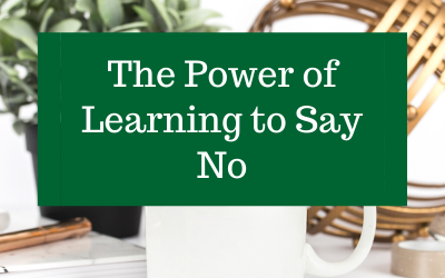 The Power of Learning to Say No