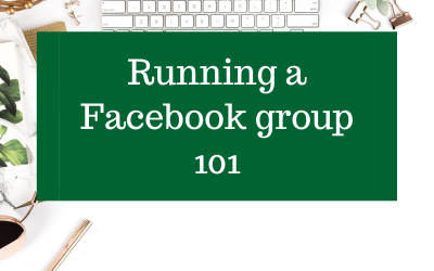 Running a Facebook Group 101